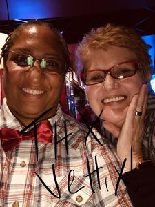Romona attended Brad Garrett's Comedy Club - Debi Gutierrez - Saturday Show 21+ on Dec 8th 2018 via VetTix