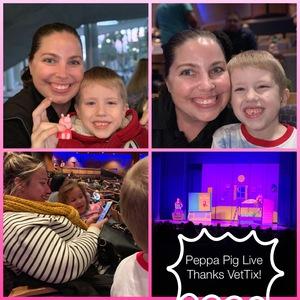 Renee attended Peppa Piglive! on Dec 11th 2018 via VetTix