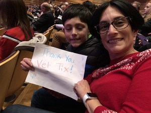 Craig attended Holiday Pops - Presented by National Philharmonic on Dec 7th 2018 via VetTix