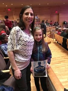 Nicole attended Holiday Pops - Presented by National Philharmonic on Dec 7th 2018 via VetTix