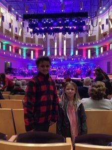 Jarrett attended Holiday Pops - Presented by National Philharmonic on Dec 7th 2018 via VetTix