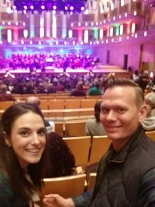 RYAN attended Holiday Pops - Presented by National Philharmonic on Dec 7th 2018 via VetTix