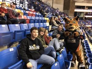 Johnny attended Fayetteville Marksmen vs. Birmingham Bulls - SPHL on Dec 8th 2018 via VetTix