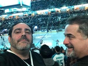 Seth attended San Jose Sharks vs. New Jersey Devils - NHL on Dec 10th 2018 via VetTix