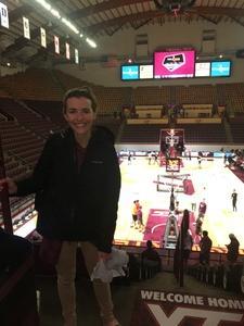 Taylor attended Virginia Tech Hokies vs. Virginia Military Institute - Military Appreciation Night - NCAA Men's Basketball on Dec 5th 2018 via VetTix