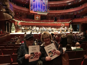 John attended Amahl and the Night Visitors - Presented by the Philadelphia Orchestra on Dec 15th 2018 via VetTix