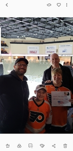 Mark attended Lehigh Valley Phantoms vs. Cleveland Monsters - AHL on Dec 5th 2018 via VetTix