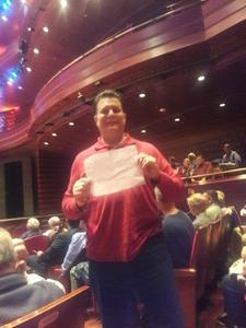 Gary attended Organ and Brass Christmas - Presented by the Philadelphia Orchestra on Dec 14th 2018 via VetTix