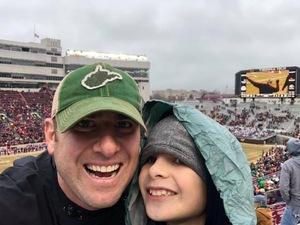 James attended Virginia Tech Hokies vs. Marshall University Thundering Herd - NCAA Football on Dec 1st 2018 via VetTix
