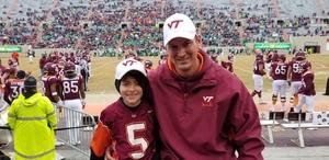 Frank Tarr attended Virginia Tech Hokies vs. Marshall University Thundering Herd - NCAA Football on Dec 1st 2018 via VetTix