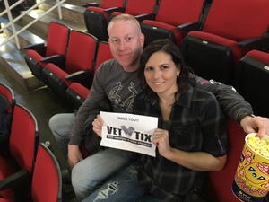 Benjamin attended Chris Young: Losing Sleep World Tour 2018 - Country on Dec 1st 2018 via VetTix