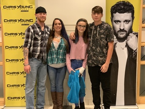 Beverly attended Chris Young: Losing Sleep World Tour 2018 - Country on Dec 1st 2018 via VetTix