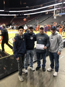 Christopher attended Never Forget Tribute Classic 2018 - NCAA Men's Basketball Doubleheader on Dec 8th 2018 via VetTix