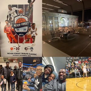 Douglas attended Never Forget Tribute Classic 2018 - NCAA Men's Basketball Doubleheader on Dec 8th 2018 via VetTix