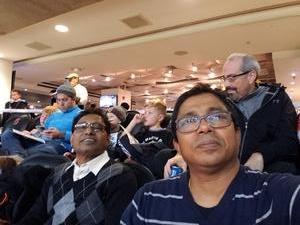 Saha attended Never Forget Tribute Classic 2018 - NCAA Men's Basketball Doubleheader on Dec 8th 2018 via VetTix