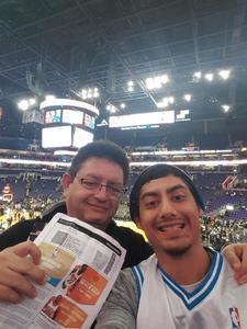 Jesus attended Phoenix Suns vs. Orlando Magic - NBA on Nov 30th 2018 via VetTix