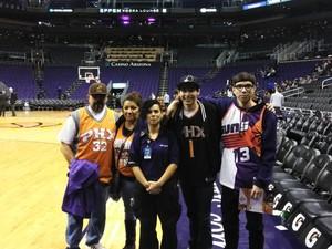 Albert attended Phoenix Suns vs. Orlando Magic - NBA on Nov 30th 2018 via VetTix