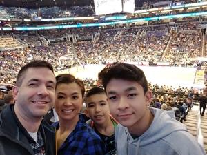 William attended Phoenix Suns vs. Orlando Magic - NBA on Nov 30th 2018 via VetTix
