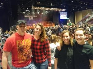 Jeffrey attended Generation Axe: Vai, Wylde, Malmsteen, Bettencourt, & Abasi - Pop on Dec 10th 2018 via VetTix