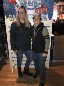 Sabrina attended Star 94. 1 Jingle Jam Feat. O. A. R, Jesse Mccartney, Brynn Elliott - Alternative Rock on Dec 12th 2018 via VetTix