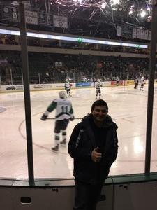 AME3 Franco attended Texas Stars vs Milwaukee Admirals - AHL on Dec 5th 2018 via VetTix
