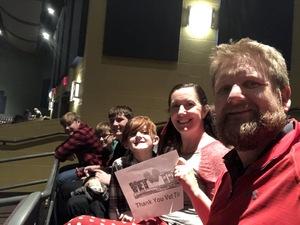 Raymond attended Southwest Youth Ballet's Presents the Nutcracker - Sunday Matinee on Dec 16th 2018 via VetTix