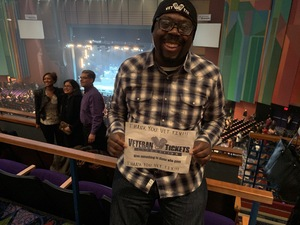 Anthony attended Maxwell: 50 Intimate Nights Live - R&b on Dec 7th 2018 via VetTix