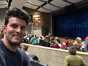 Cody attended The Nutcracker Performed by Northeastern Ballet Theatre - Saturday on Dec 15th 2018 via VetTix
