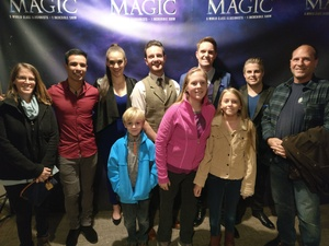 Brady attended Champions of Magic in Dallas on Dec 5th 2018 via VetTix
