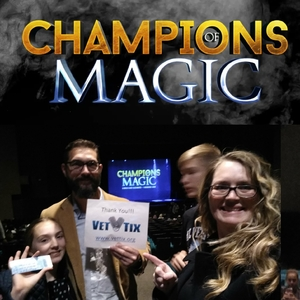 Michael attended Champions of Magic - Sunday Matinee on Dec 9th 2018 via VetTix