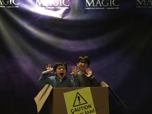 Vernon attended Champions of Magic - Sunday Matinee on Dec 9th 2018 via VetTix