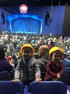 Telma attended Paw Patrol Live: Race to the Rescue - Presented by Vstar Entertainment - 10: 00am on Dec 16th 2018 via VetTix