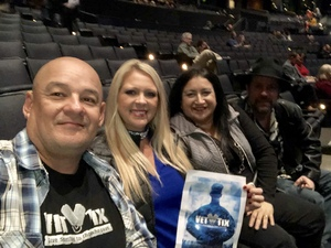 Val attended The Irving Symphony Performs Windborne's the Music of LED Zeppelin on Dec 15th 2018 via VetTix