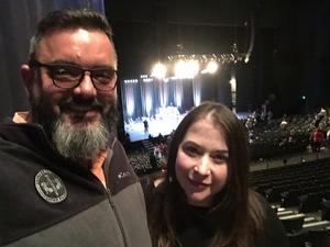 Jeffrey attended The Irving Symphony Performs Windborne's the Music of LED Zeppelin on Dec 15th 2018 via VetTix