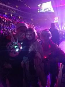 Thomas attended 101. 3 Kdwb's Jingle Ball Presented by Capital One - Pop on Dec 3rd 2018 via VetTix