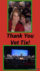 Casey attended Sounds of the Season on Dec 7th 2018 via VetTix