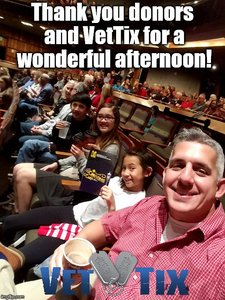 Cecil attended A Christmas Carol - the Musical at 2 PM on Dec 9th 2018 via VetTix