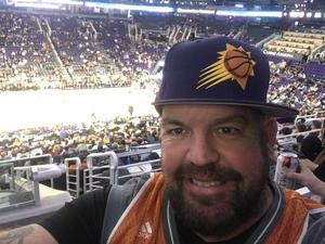 David attended Phoenix Suns vs. Sacramento Kings - NBA on Dec 4th 2018 via VetTix