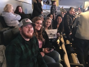 Libby attended Old Dominion - the Happy Endings Would Tour on Dec 6th 2018 via VetTix