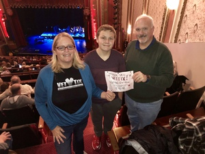 James attended Michael Bolton - the Symphony Sessions - the Greatest Hits and Holiday Favourites on Dec 11th 2018 via VetTix