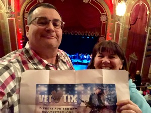 Mich attended Michael Bolton - the Symphony Sessions - the Greatest Hits and Holiday Favourites on Dec 11th 2018 via VetTix