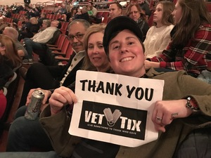 Melisa attended Michael Bolton - the Symphony Sessions - the Greatest Hits and Holiday Favourites on Dec 11th 2018 via VetTix