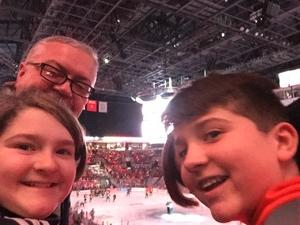 Daniel attended Ohio State Buckeyes vs. University of Michigan Yellow Jackets - NCAA Hockey on Jan 12th 2019 via VetTix