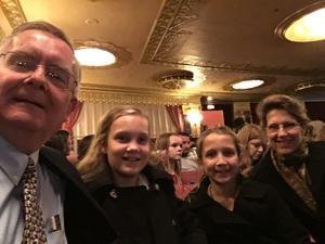 Robert attended Washington Ballet Nutcracker - Wednesday on Dec 12th 2018 via VetTix
