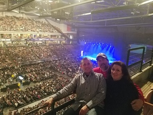 Robert attended Chris Young: Losing Sleep World Tour 2018 - Country on Dec 8th 2018 via VetTix