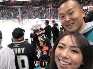 Sean attended Anaheim Ducks vs. Carolina Hurricanes - NHL on Dec 7th 2018 via VetTix