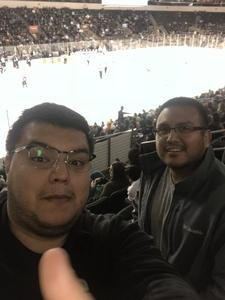 Juan attended Texas Stars vs Iowa Wild - AHL on Dec 12th 2018 via VetTix