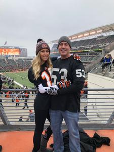Molly attended Cincinnati Bengals vs. Oakland Raiders - NFL on Dec 16th 2018 via VetTix