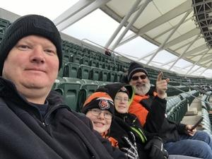 Tracy attended Cincinnati Bengals vs. Oakland Raiders - NFL on Dec 16th 2018 via VetTix