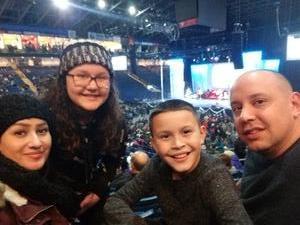 Michael attended Cirque Musica Holiday Presents Wonderland - Circus on Dec 9th 2018 via VetTix